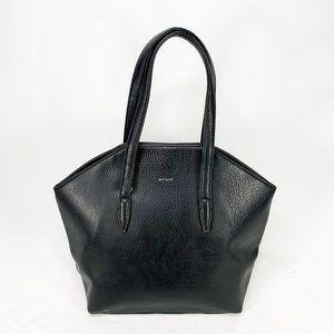 MATT & NAT Baxter Handbag Black Vegan Leather